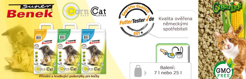 Podestýlky pro kočky Benek. 100% přírodní kočkolit.