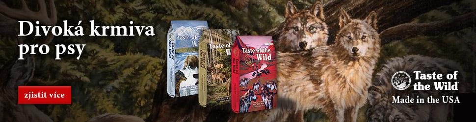 Taste of the Wild | Superprémiové krmivo pro psy