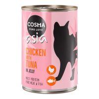 Cosma Thai/Asia kuře s tuňákem v želé 400g