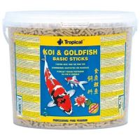 Tropical Koi & Goldfish Basic Sticks 5l (430g)