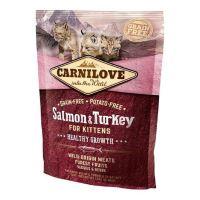 Carnilove Cat Salmon & Turkey Kitten 0,4kg