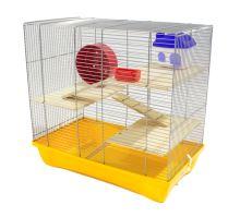 MPS Italia klec pro křečka Hamster 12 Nature s výbavou 58x32x54cm