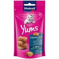 Vitakraft Cat Yums losos polštářky 40g