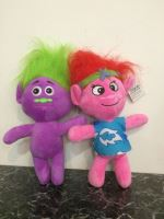 Plush Troll, colorful 1pcs