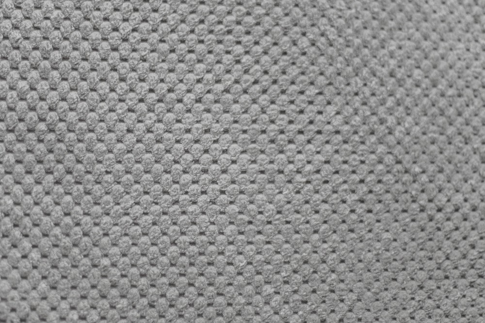 Corduroy light gray bubbles, standard meter, width 145cm
