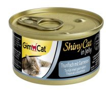 Gimpet ShinyCat Tuna & Shrimp 70g