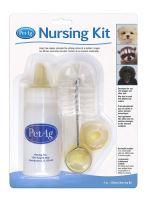 PetAg Nursing Kit sada pro kojení zvířat (láhev 120ml)