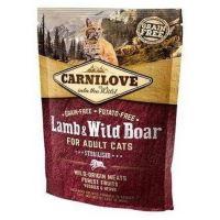 Carnilove Cat Lamb & Wild Boar Adult Sterilised 0,4kg