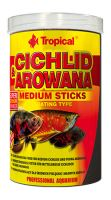 Tropical Cichlid & Arowana Medium Sticks 250ml (90g)