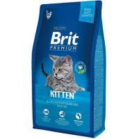 Brit Premium Kitten kuře & lososová omáčka 8kg