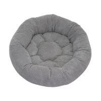 Rajen kulatý pelíšek 50cm, vzor šedé bublinky