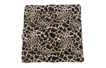 Rajen plyšová deka 60x60cm motiv žirafa