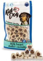 Kiddog dental milk hearts 80g