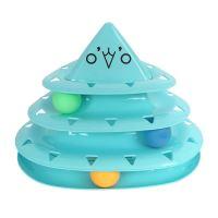 Hračka pro kočky - trojhranná pyramida