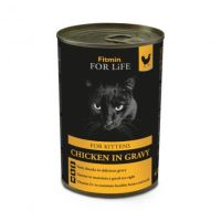 Fitmin For Life Kuřecí konzerva pro koťata 415g