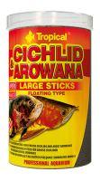 Tropical Cichlid & Arowana Large Sticks 1000ml (300g)