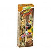 Nestor tyčinky pro střední papoušky s ořechem 2ks
