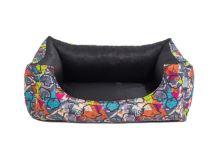 Rajen dog bed, 4 sizes, theme P-17