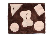 Rajen sniffing blanket theme F01, 65x55cm