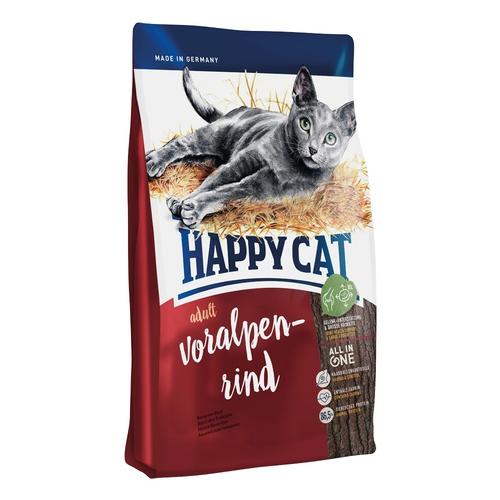 Happy Cat Supreme Adult Voralpen Rind (alpské hovězí) 10kg