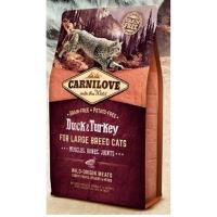 Carnilove Cat Duck & Turkey Adult Large Breed 6kg