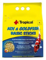 Tropical Koi & Goldfish Basic Sticks 1000ml (90g)