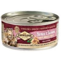 Carnilove White Muscle Meat Turkey & Salmon Kittens 100g