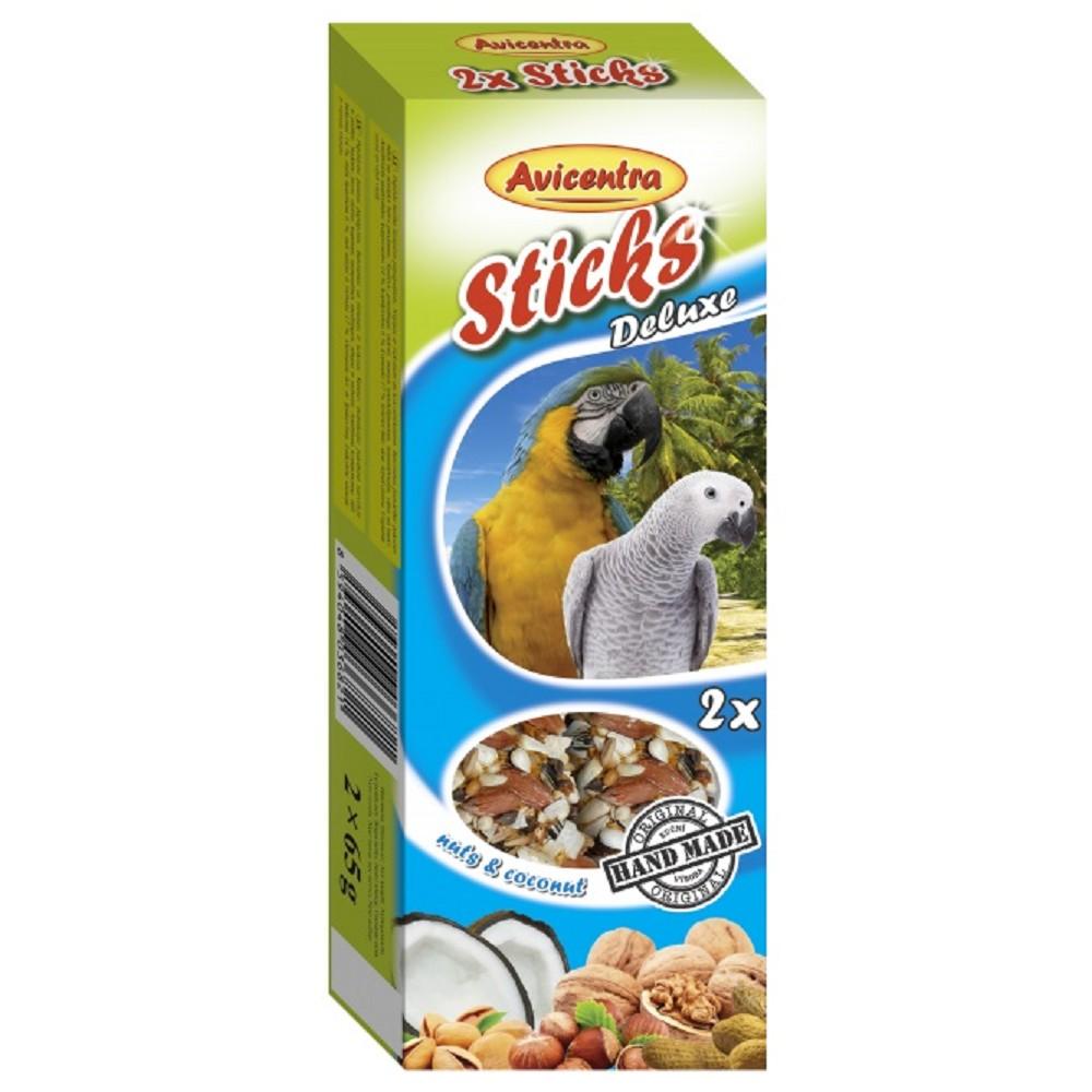 Avicentra velký papoušek tyčinky ořech & kokos 2ks x 65g