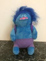 Plush Troll, blue 1pc