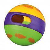 Trixie míč na pamlsky s mrkvičkami pro hlodavce 6cm