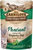 Carnilove Cat kapsička bažant s malinami 85g