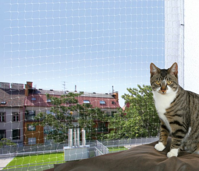 Trixie protective net for cats 4x3m