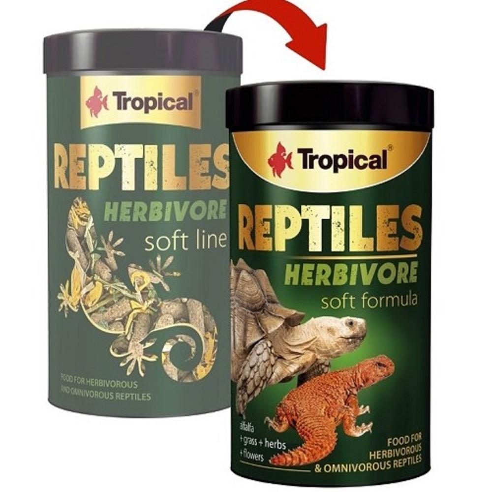 Tropical Reptiles Soft Herbivore 1000 ml, 260g