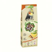 Nestor krmivo Premium pro střední papoušky s jablkem, ořechem a banánem 700ml (425g)