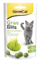 GimCat Gras Bits kuličky s kočičí trávou 40g