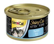 GimCat ShinyCat Kitten tuňák 70g