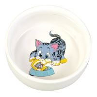 Ceramic bowl with picture