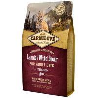 Carnilove Cat Lamb & Wild Boar Adult Sterilised 2kg