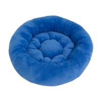 Rajen round cat bed 50cm, clear blue