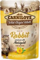 Carnilove Cat kapsička králík s měsíčkem lékařským 85g