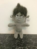 Plush Troll, gray 1pc