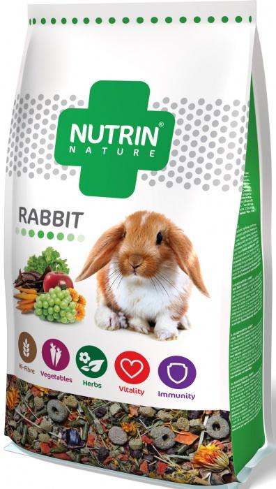 Kompletní krmivo NUTRIN pro králíky. 750 g.