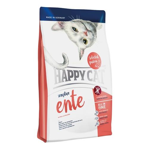 Happy Cat Sensitive Ente (kachní) 1,4kg