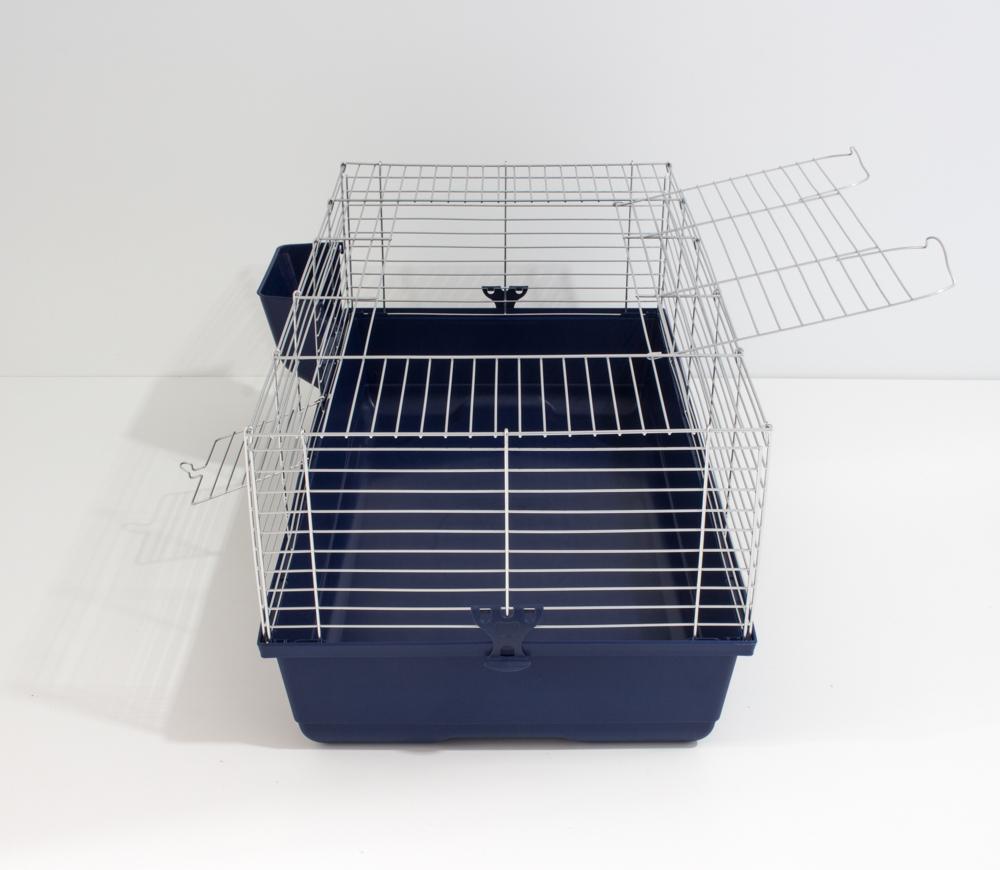 Klec pro králíky nebo klec pro morčata italské výroby MPS Italia. Kvalitní a prostorná klec za rozumnou cenu.