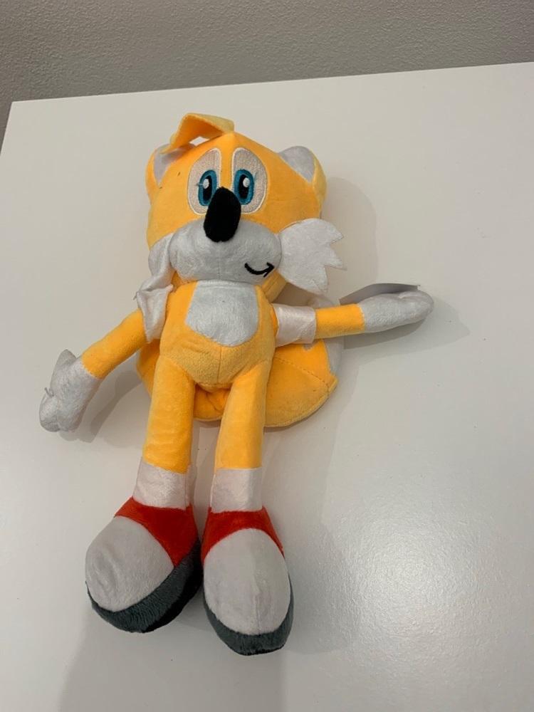 Plyšový Tails z Dobrodružství Ježka Sonica