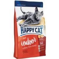 Happy Cat Indoor Voralpen-Rind / Hovězí 1,4kg