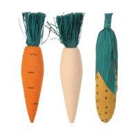 Trixie Dřevěná okusovací zelenina 10cm 3ks