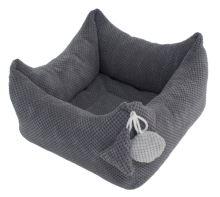 Rajen bed, 40x40 or 50x50cm, dark gray