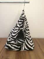 Rajen hanging igloo pattern zebra