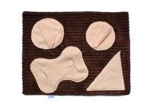 Rajen sniffing blanket theme F01, 58x45cm